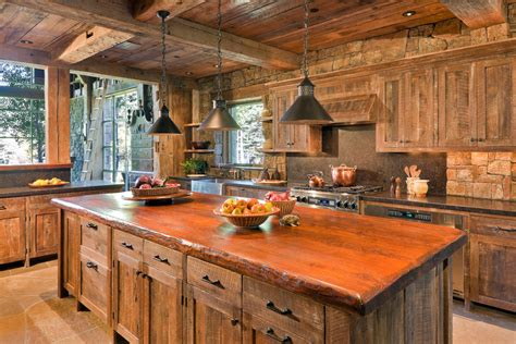 Small Kitchen Bench Seating - barn wood cabinets kitchen rustic with cabinets exposed beams exposed beeyoutifullife com