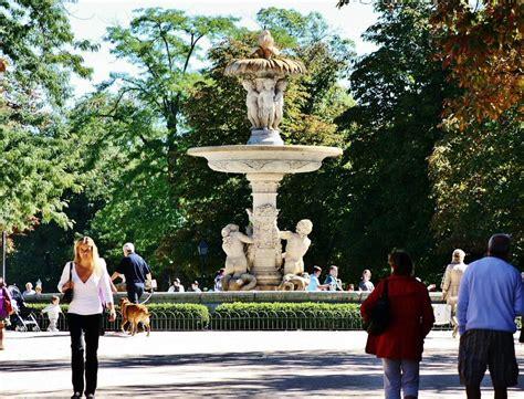 madrid parque retiro fuente de la alcachofa archivos de la comunidad de madrid parque retiro viajar a madrid
