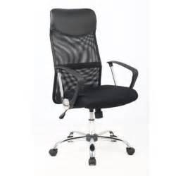 karl fauteuil de bureau en simili ergonomique noir