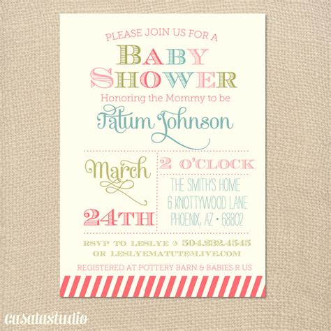 Baby Shower Invitations by Free Printable Template For Baby Shower Invitations