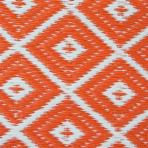 Orange And White Rugs by Arabian Nights Orange And White Outdoor Rug On Sale Fast Delivery Greenfingers