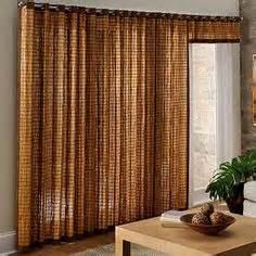 Bamboo Closet Door Curtains 1000 Images About Sliding Door Treatment In Kitchen On Sliding Glass Door Window