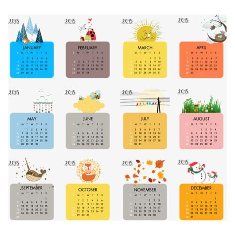 psd calendar template 2018 free calendar 2018 vector psd and png for free