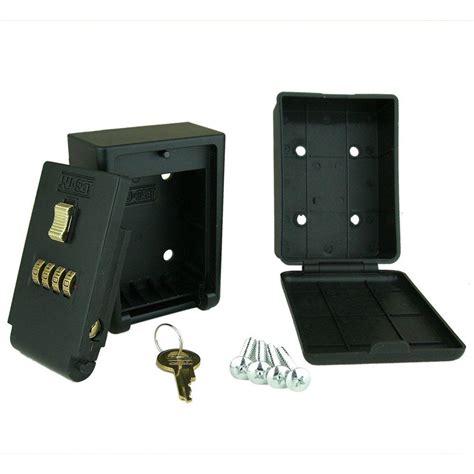 key cabinet lock box nuset 4 number combination lockbox wall mount key storage