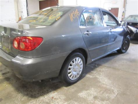 2005 Toyota Corolla Parts Parting Out 2005 Toyota Corolla Stock 110416 Tom S