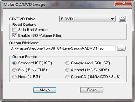 membuat file iso dari kaset tutorial cara membuat file iso dari cd dvd menggunakan