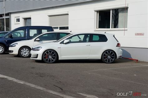 Vw Golf 7 Dcc Tieferlegen by H R Oder Eibach Federn Golf 7 Gti Community Forum