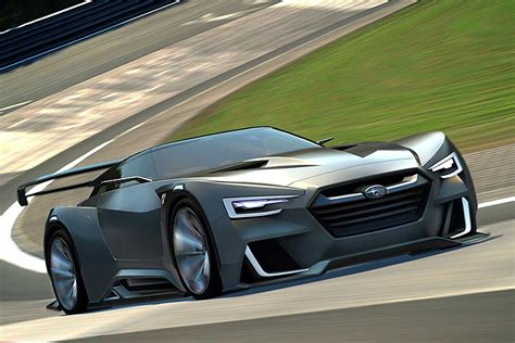 subaru coupe subaru is working on a 300hp mid engine coupe says report