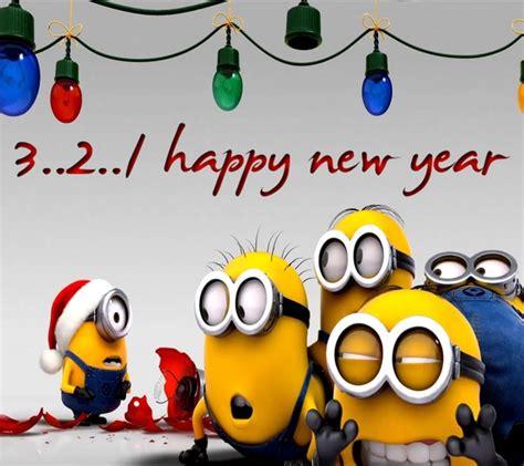 happy  year minion quotes