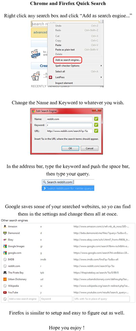 chrome quick search seven awesome life pro tips