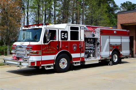 cary fire department newer fire apparatus