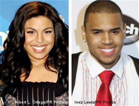 Jordin Sparks And Chris Brown On The Set Of No Air by Jordin Sparks And Chris Brown On American Idol