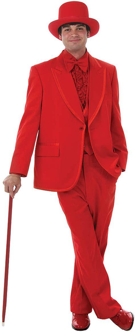 deluxe red tuxedo costume at boston costume