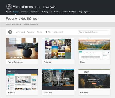themes wordpress gratuit comment installer un th 200 me wordpress gratuit ou payant