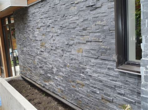 house slate geometric house slate wall contemporary exterior vancouver by one seed architecture