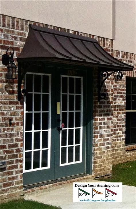 Copper Porch Awning by Best 25 Metal Awning Ideas On Front Door