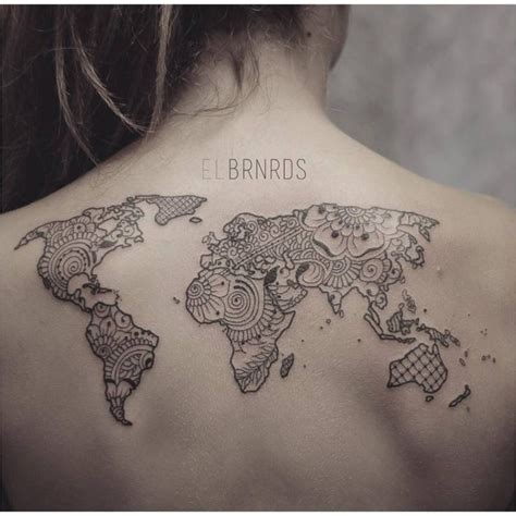 henna tattoo zurich resultado de imagen para tatuajes de mapas del mundo