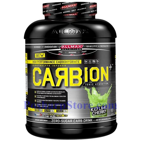 Allmax Liver Detox by Allmax Carbion Plus High Performance Carbohydrate Drink