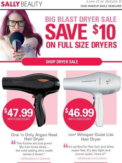 Sally Supply Portable Hair Dryer sally supply 10 hair dryers milled