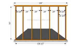 Building A Wall wall framing plan wall framing plans fall into several categories