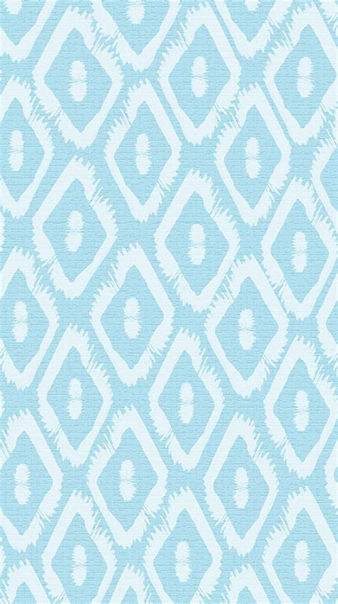pattern lock background pastel blue white ikat pattern iphone phone wallpaper