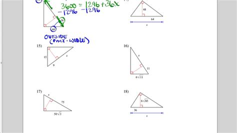 Similar Right Triangles Worksheet Answers by Uncategorized Similar Triangles Worksheets
