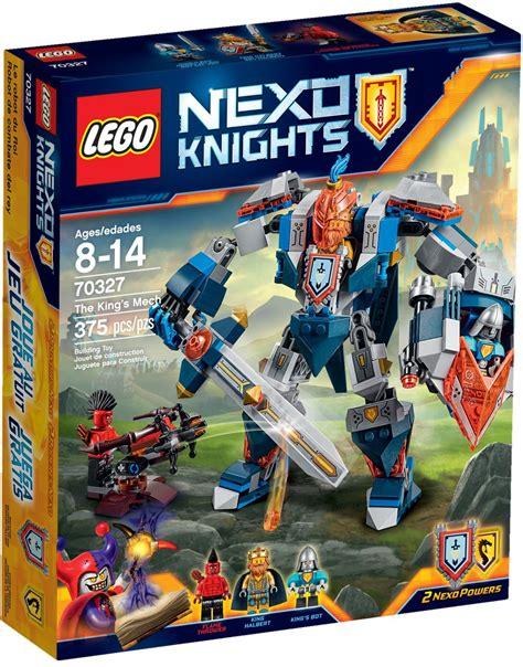 Lego 70327 The King S Mech Nexo Knights 1 lego nexo knights the king s mech 2016 set preview bricks and bloks