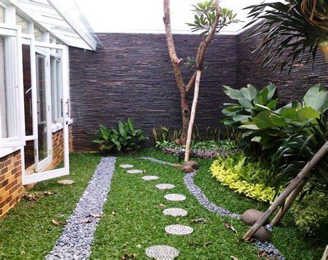 desain eksterior taman belakang 30 desain taman minimalis belakang rumah di lahan sempit