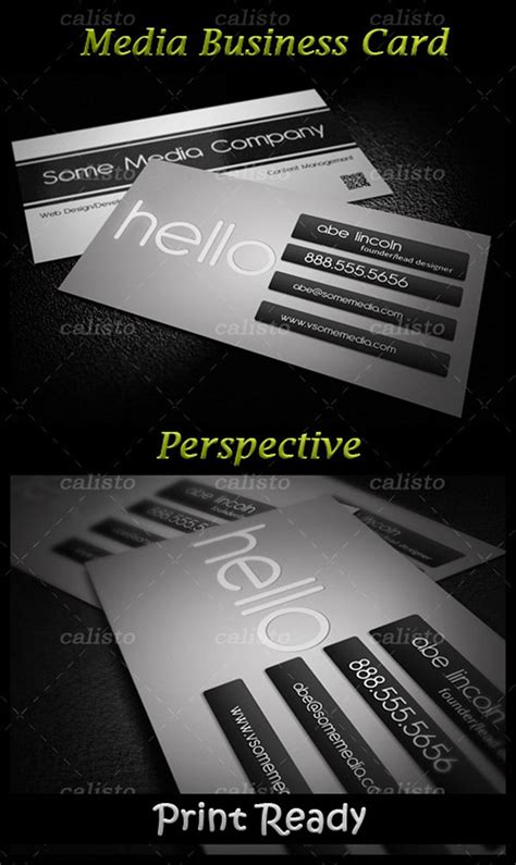 business card display template 4 designer business card display template psd material