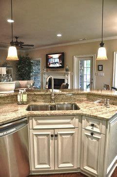 kitchen island with raised bar raised bar the sink this i this already but like the granite for back splash