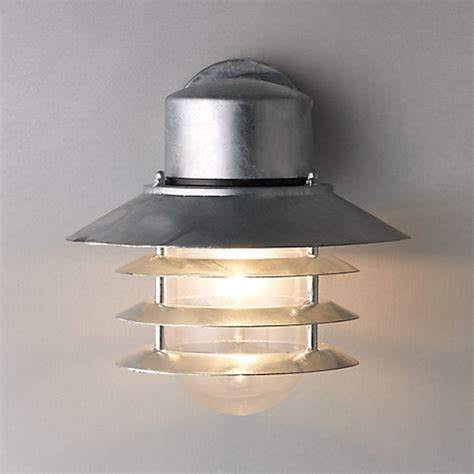 buy outside lights buy nordlux vejers outdoor wall light galvanised steel