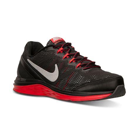 nike dual fusion run 3 mens running shoes nike mens dual fusion run 3 running sneakers from finish
