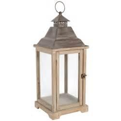 lanterne en bois h 61 cm ad 200 le maisons du monde