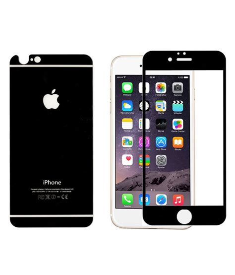 Tempered Glass For Apple Iphone 4 clickaway front back tempered glass for apple iphone 4 black buy clickaway front back