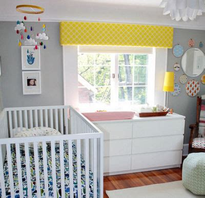 Yellow Gray Nursery Decor Real Nurseries