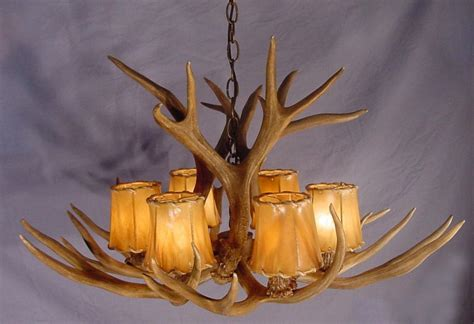 deer antler light fixtures atmosphere of a lodge with antler light fixtures