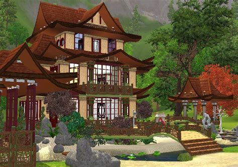 chinese house my sims 3 blog chinese house ii by jarkad