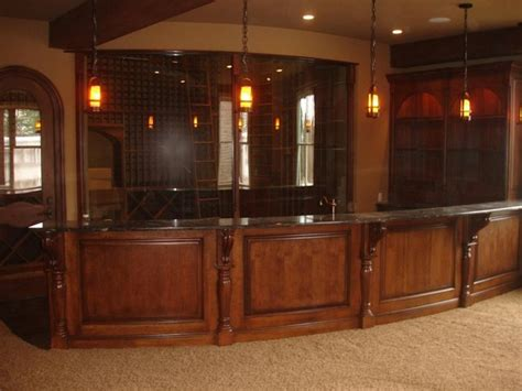 Home Bar Entertainment Entertainment Cabinetry And Home Bars Traditional Wine Cellar