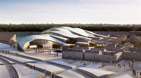 Architecture Concept gallery of tanmen oceanic fishing cultural center and