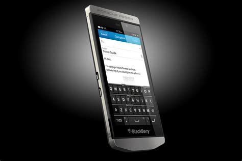 porsche design blackberry porsche design p9982 smartphone from blackberry