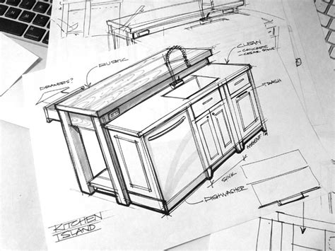 Kitchen Design Sketch Sketch A Day 416 Kitchen Design Sketch Sketch A Day Sketches By Spencer Nugent