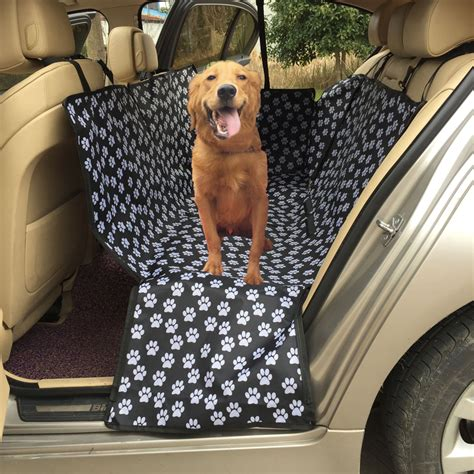 Covers Pets by Oxford Fabric Paw Pattern Car Pet Seat Covers Waterproof