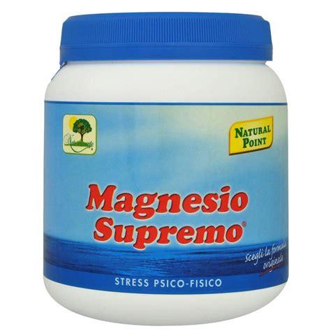 magnesio supremo in allattamento magnesio supremo solubile 150 gr farmaetnea