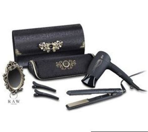 Hair Dryer And Straightener Bag new ghd hair straightener gold classic dryer bag midnight deluxe pack co uk
