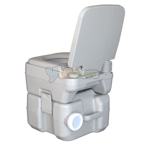 boat potty 20l portable cing toilet flush porta travel outdoor