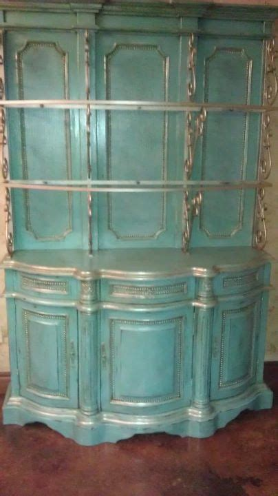 sloan painted hutch 273 best decorating with turquoise images on