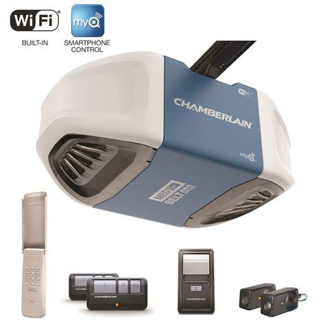 Smartphone Controlled Garage Door Opener Garage Door Openers With Myq Included Chamberlain