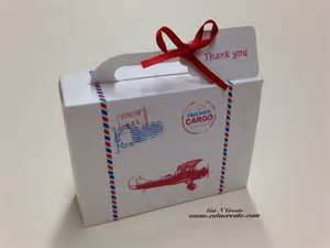Suitcase Favor Boxes by Precious Cargo Suitcase Favor Box Baby Shower By