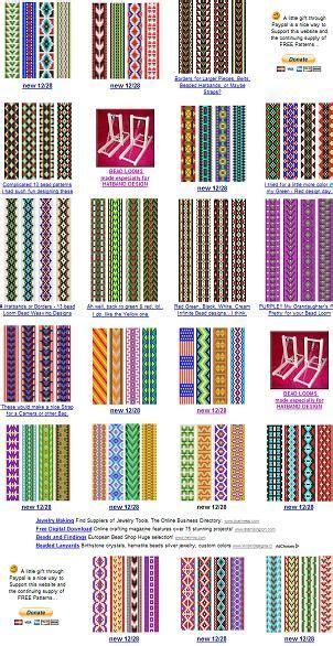 loom patterns loom bead patterns and loom patterns on