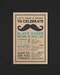 bachelor invitation templates printable bachelor invitation mustache the biko
